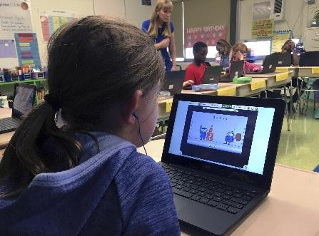 미, 교육 현장의 디지털화