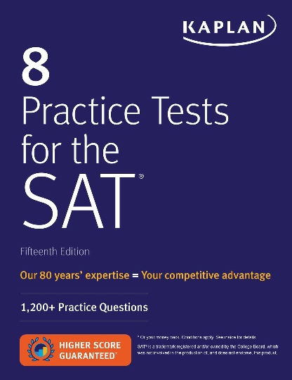 (타_카플랜) 8PRACTICE TESTS FOR THE SAT