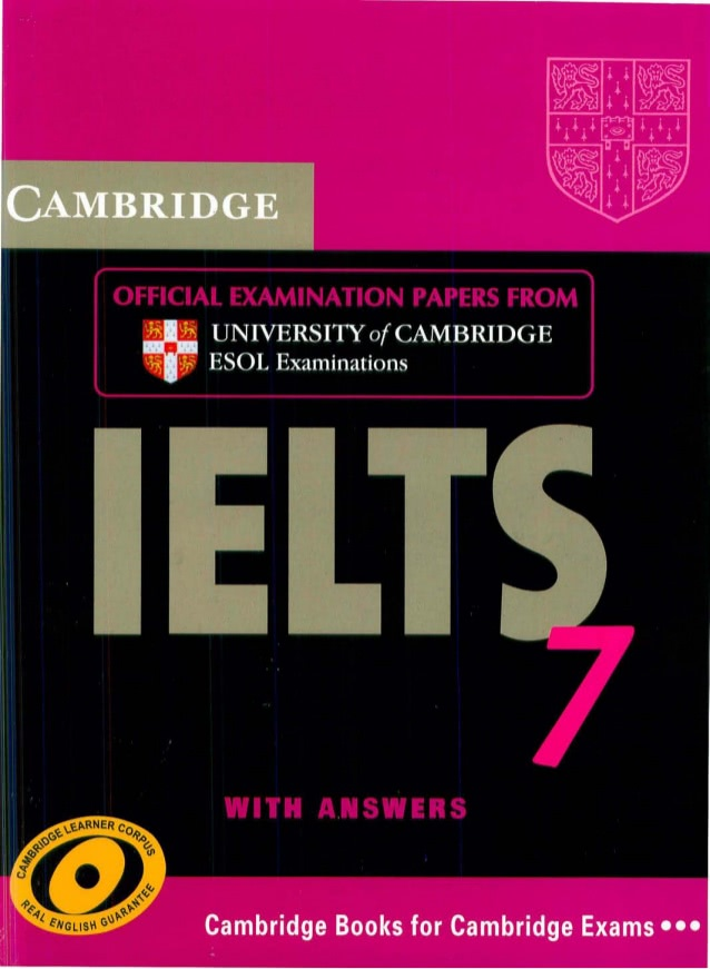 Cambridge IELTS 기출문제 7