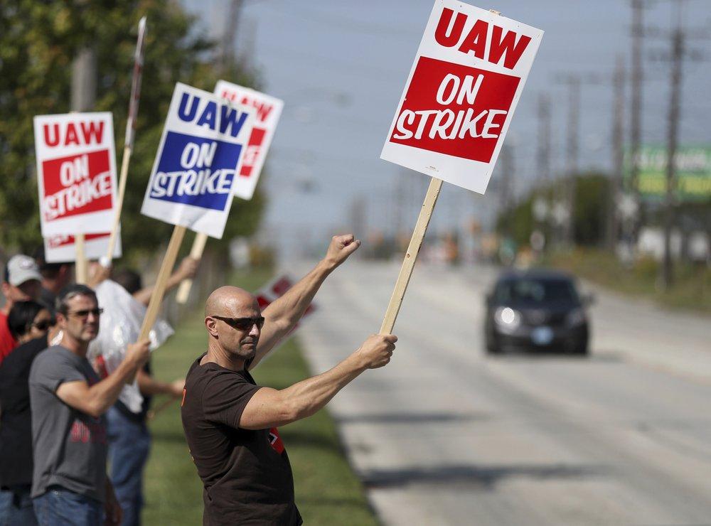미, GM 노조 파업
