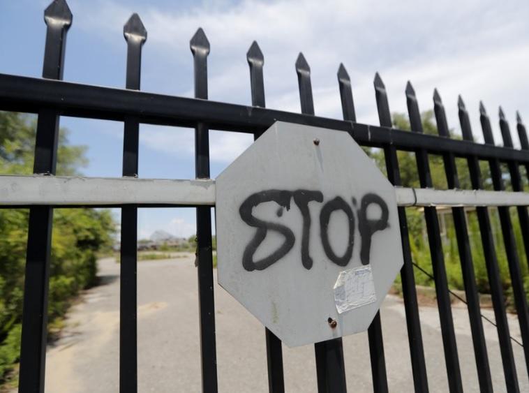 뉴올리언스, 폐허 된 '식스 플래그' 철거