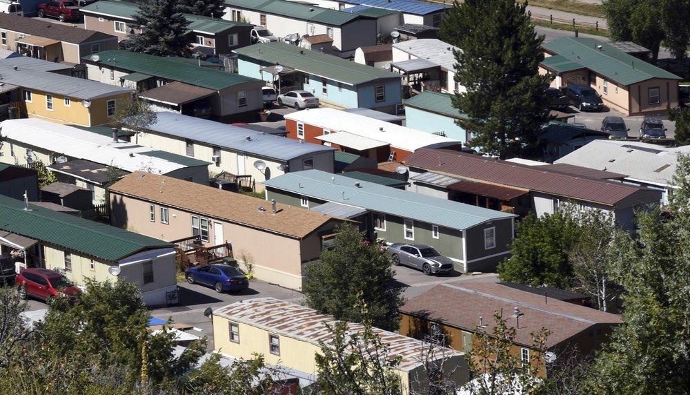 미 콜로라도, 이동식 주택 단지 위태