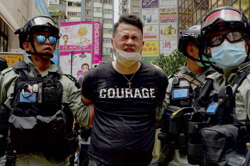 홍콩, 국가보안법 시행