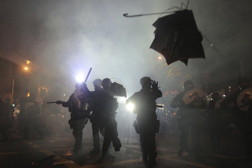 미, 경찰 과잉진압 흑인 남성 사망