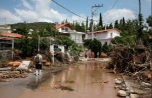 아테네, 폭풍을 동반한 홍수로 인명피해