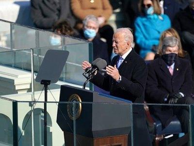 조 바이든 미국 대통령, 백악관 입성