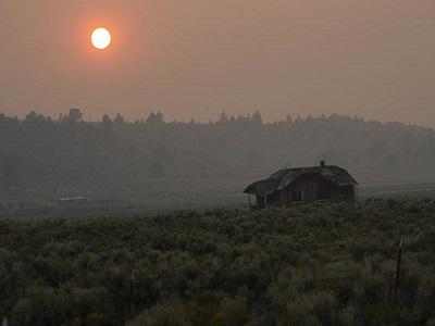 미 서부, 산불 연기로 코로나 감염률 높아져