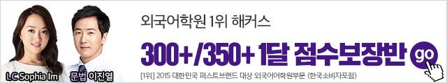 2019 10월 텝스 점수보장반