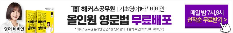 비비안 올인원 영문법 무료배포