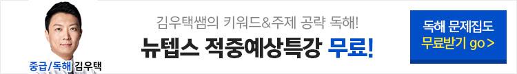 텝스 적중예상특강 김우택