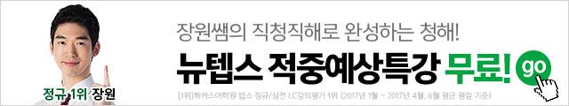 텝스 적중예상특강 장원