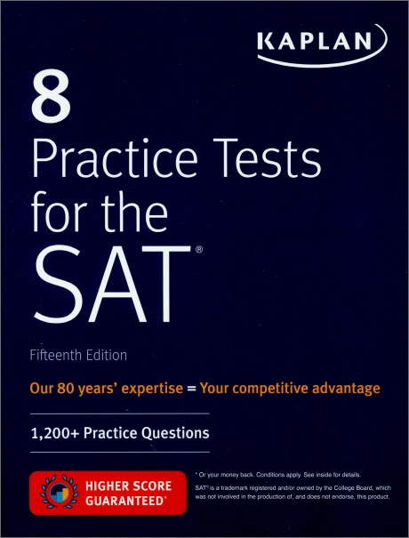 8 Practice Tests for the SAT (15th Edition)