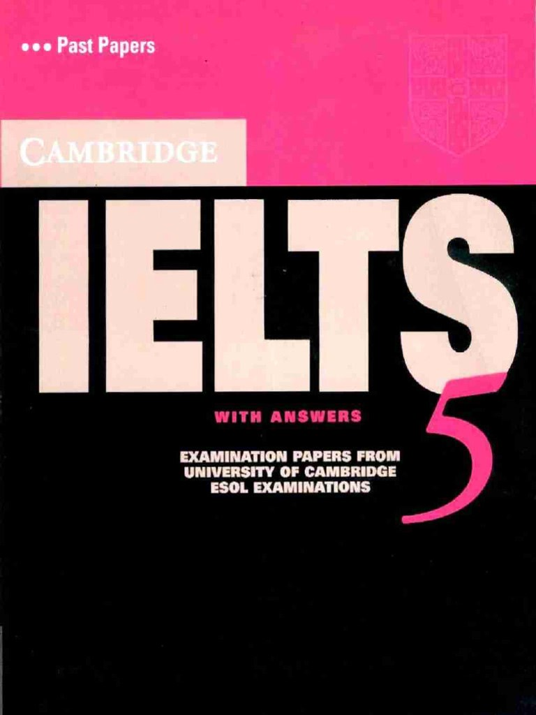 Cambridge IELTS 기출문제 5