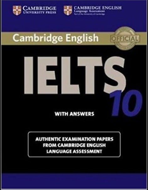 Cambridge IELTS 기출문제 10